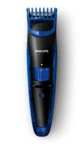 Тример Philips QT4002/15, Ножчета от неръждаема стомана, Миещи се приставки